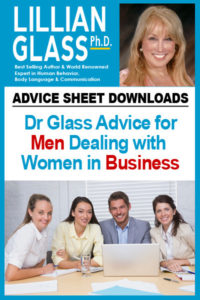 Dr Glass Advice for Men Dealing with Women in Business