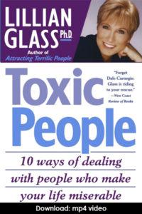 advice sheet toxic people